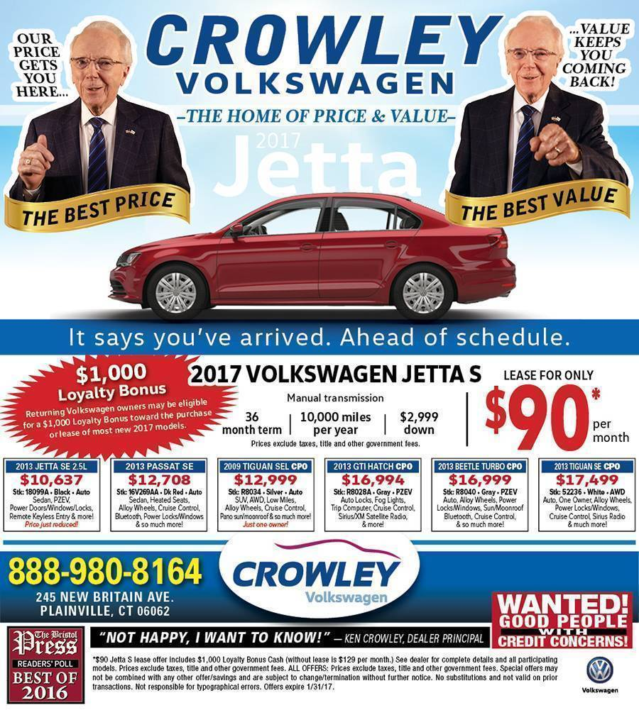Current Ads VW