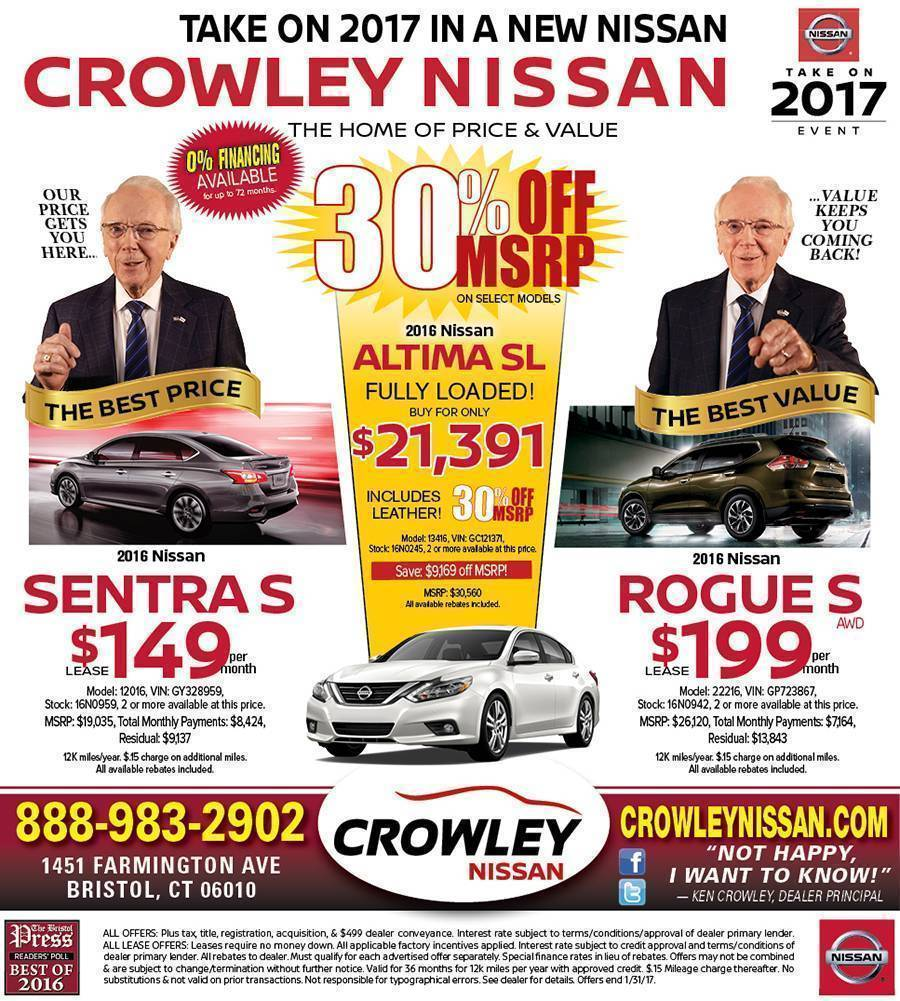 Current Ads Nissan