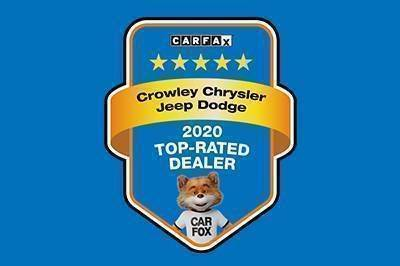 Crowley Chrysler Jeep Dodge Recognized as a CARFAX Top-Rated Dealer