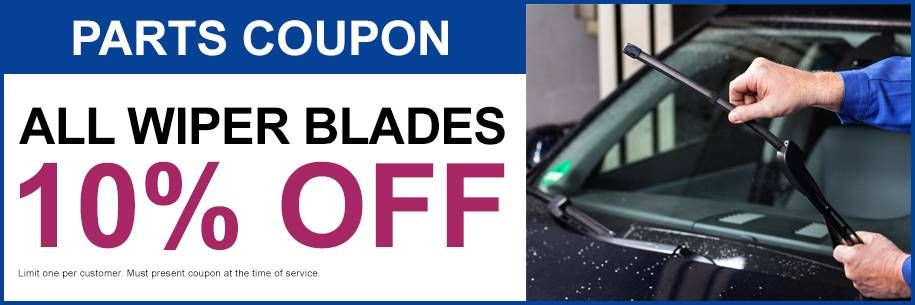 All Wiper Blades 10% Off