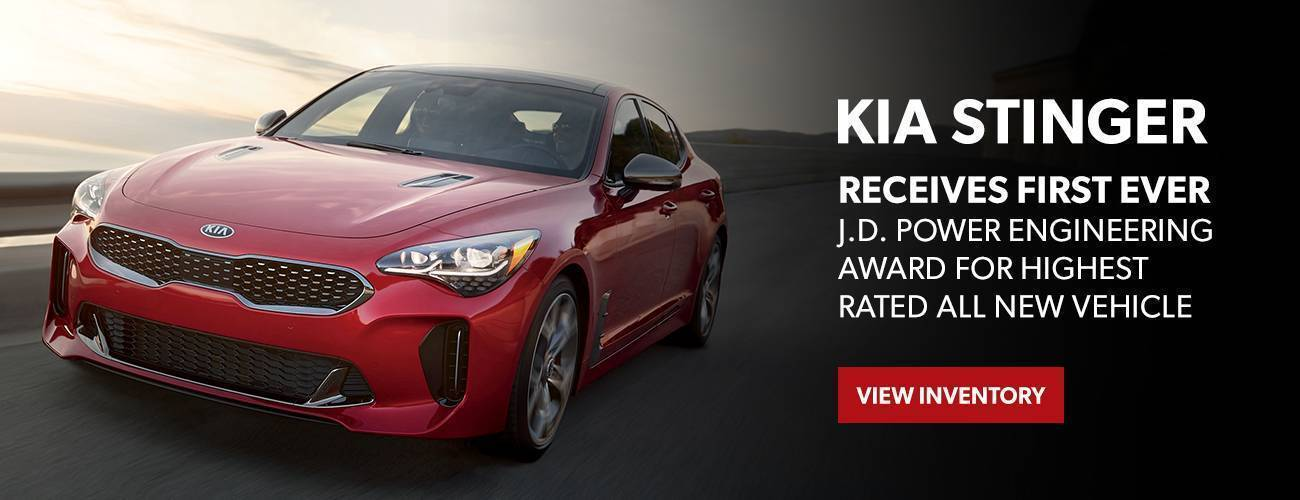 Kia Stinger JD Power