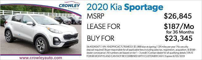 Crowley Kia Dealership | Specials & Incentives | Bristol CT
