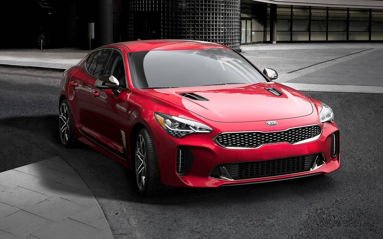 2021 Kia Stinger model image