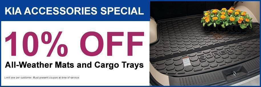Accessories 10% Off Weather/Cargo trays