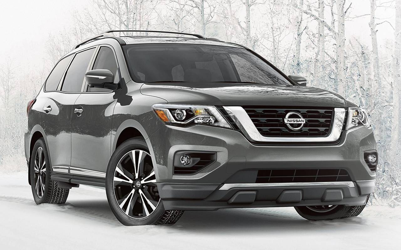 2020 Nissan Pathfinder model image